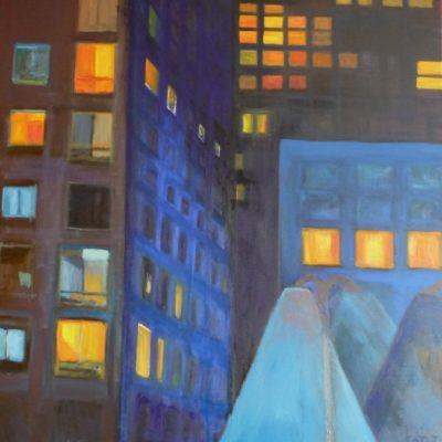immeubles dans la nuit 2009v